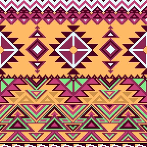 aztec pattern ai aztec pattern geometric shapes vector free download