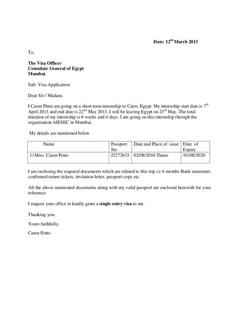 Sle Cover Letter Student application letter sle for business administration student