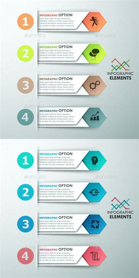 free infographic templates for photoshop modern infographics options template 2 colors colors