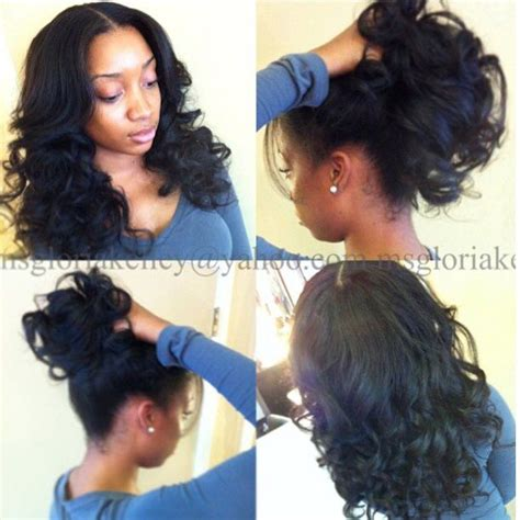versatile weave hairstyles versatile sew in hair today hair tomorrow pinterest