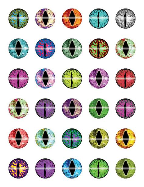 free printable cat eyes items similar to 8mm dragon or cat eyes dream fantasy
