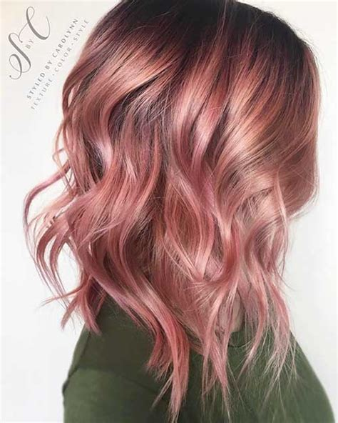 nice short pink hair ideas  young women short hairstyles    popular short