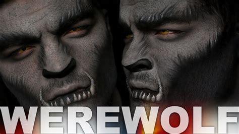 witchery werewolf tutorial halloween wolf makeup men www pixshark com images