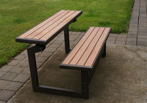 bench that turns into a picnic table plans bench that turns into a picnic table plans images