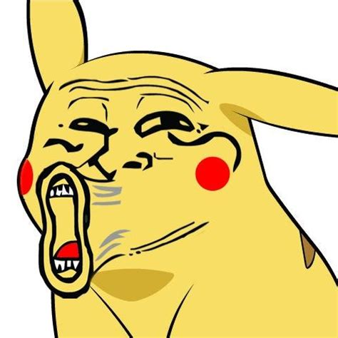 Lol Face Meme - pikachu troll lol give pikachu a face know your meme