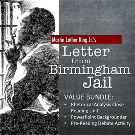 letter from birmingham rhetorical analysis letter from birmingham bundle rhetorical analysis 1363