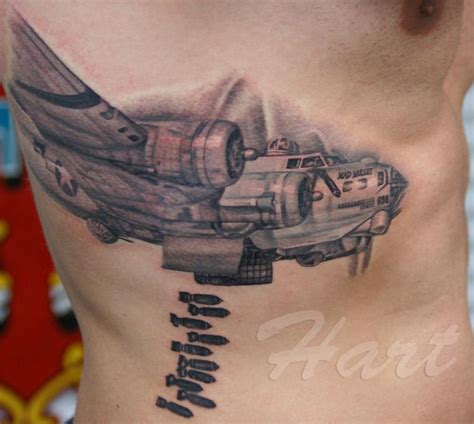 b tattoo b17 bomber www pixshark images galleries