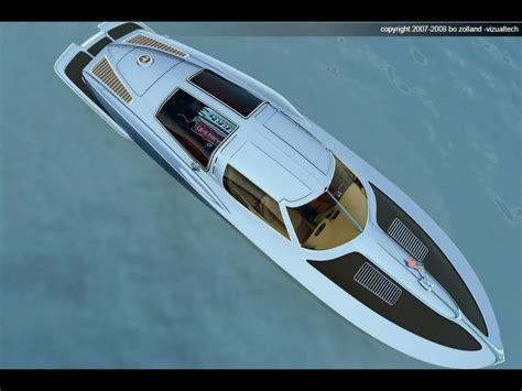 chevrolet corvette speed boat 1963 corvette inspired speed boat carscoops