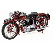 Minichamps 112 1939 Triumph Speed Twin Diecast Model