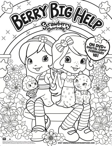 coloring book giveaway giveaway strawberry shortcake berry big help available