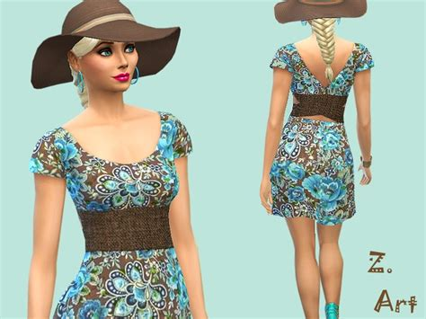 dresses sims 4 download the sims resource last summerday dress by zuckerschnute20