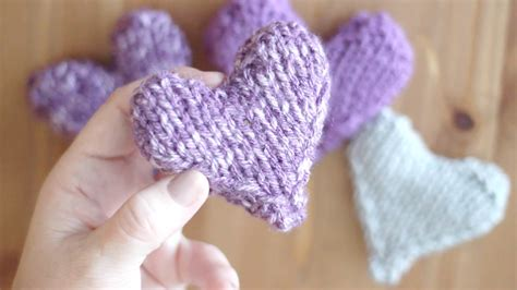pattern for heart shaped lavender bags knit heart pattern puffy heart softies with video