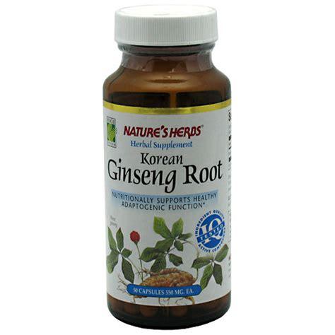 Herbal Ginseng Asli Korea nature s herbs korean ginseng root 50 caps