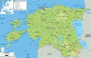maps of estonia detailed map of estonia in