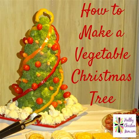 how to make a christmas tree wtih rubber gloves vegetable tree tree cauliflower and broccoli