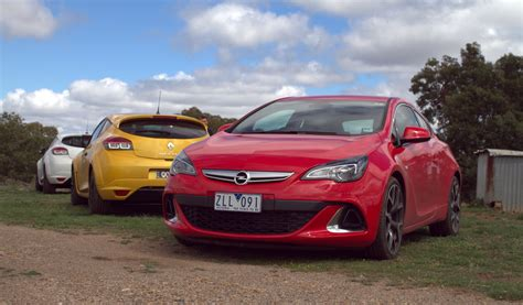 Opel Astra Opc V Renault Megane Rs265 Comparison Review