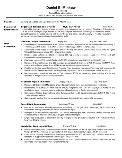 resume minkow chronological