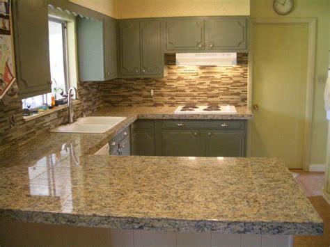 Tile Backsplash For Kitchens With Granite Countertops by Countertops And Backsplashes Kitchen Granite Tile
