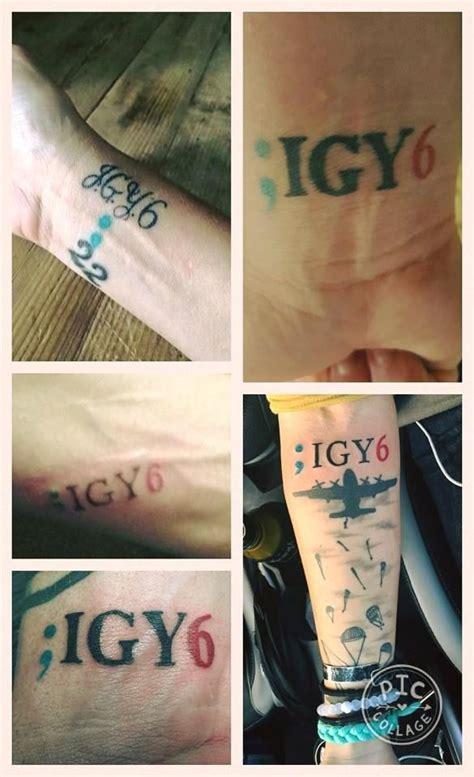 sentence tattoo designs igy6 the semicolon from the project semicolon