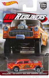 Sale Wheels 55 Chevy Bel Air Gasser Orange Mtf36 55 chevy bel air gasser model racing cars hobbydb