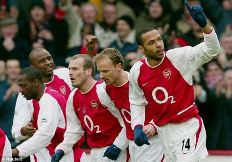 arsenal invincible arsenal invincibles win best team in premier league 20