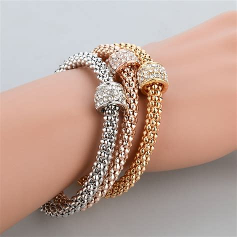 Fashion Bracelet Gold fashion jewelry bracelets bangles gold silver gold