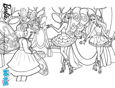 coloring pages barbie fairy secret fairy wings coloring pages hellokids com