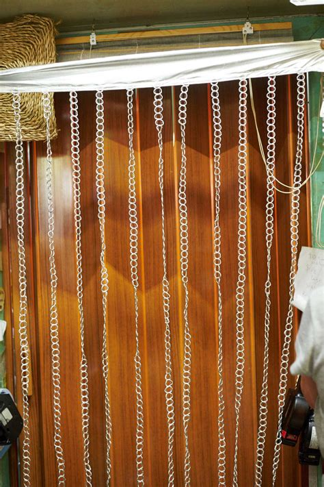 chain curtains for doors silver chain door curtains