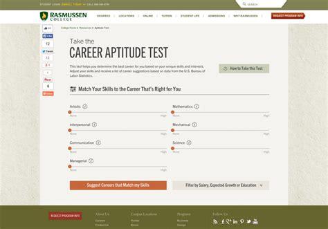 Printable Career Aptitude Test