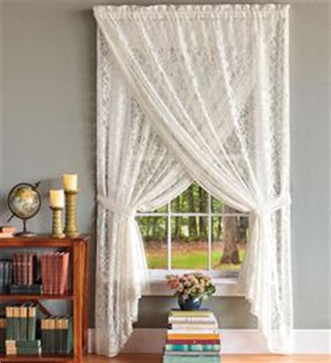 criss cross sheer curtains 1000 ideas about lace curtains on pinterest curtains