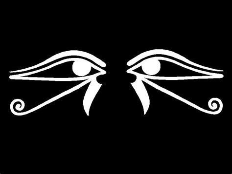 Pagan Home Decor egyptian decals eye of horus ra symbols car window laptop
