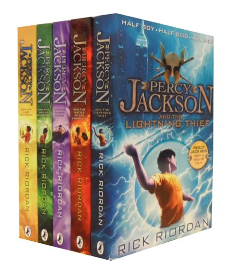 7 Book Series I 2 by Percy Jackson 5 Books Collection Set Lightning Thief Ebay
