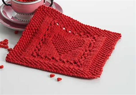 Exceptional Free Knitting Patterns For Christmas Dishcloths #3: Heart-Dishcloth-Knitting-Pattern.jpg