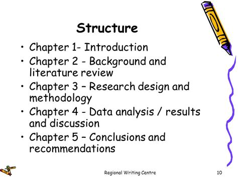 dissertation chapter structure dissertation thesis writing ppt