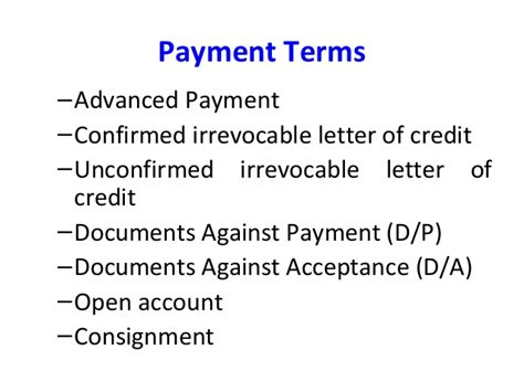 Letter Of Credit Unconfirmed Mib 3 6 On 14th Aug 2012