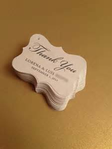 Wedding favor tags party favor tags thank you tags gift tags bridal