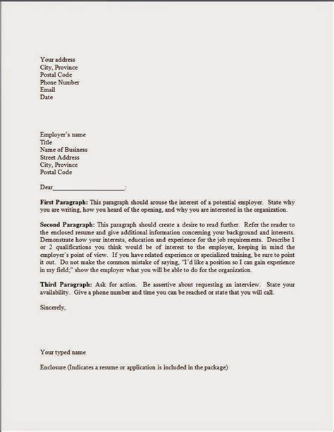cover letter exles for cover letter format best template collection