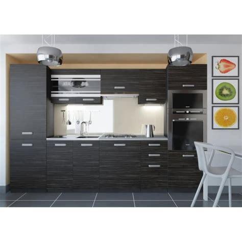 cuisine et d駱endance complet justhome torino 5 led cuisine 233 quip 233 e compl 232 te 300 cm