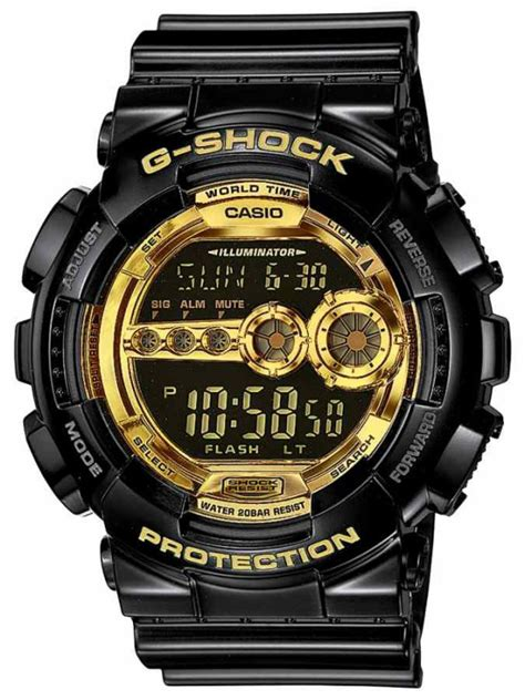 G Shock Gsd 100 Black g shock gd 100gb 1er garish black