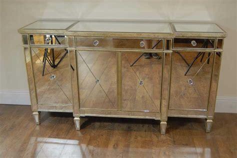 credenza mirror art deco mirrored breakfront sideboard chest credenza
