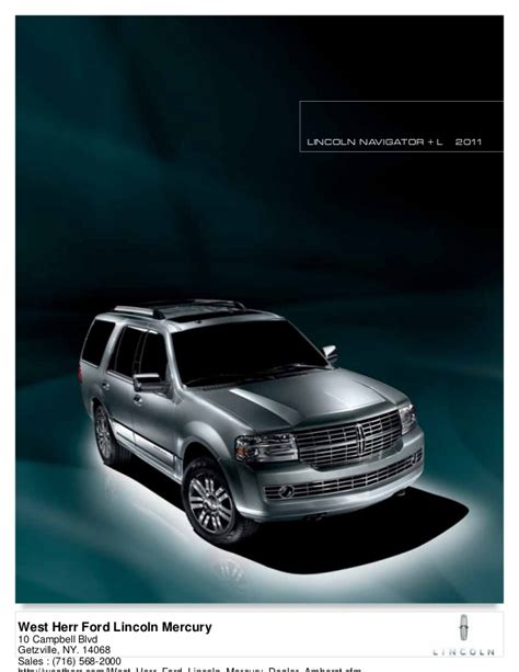 2011 lincoln navigator west herr ford lincoln mercury ny