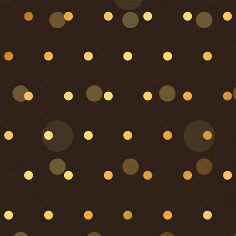 pattern dots black pattern with golden dots on a black background vector
