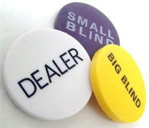 hold em big blind small blind big blind and dealer button lot ebay