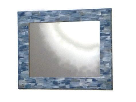 beach themed bathroom mirrors beach themed bathroom mirror shabby chic hand by mullaneink