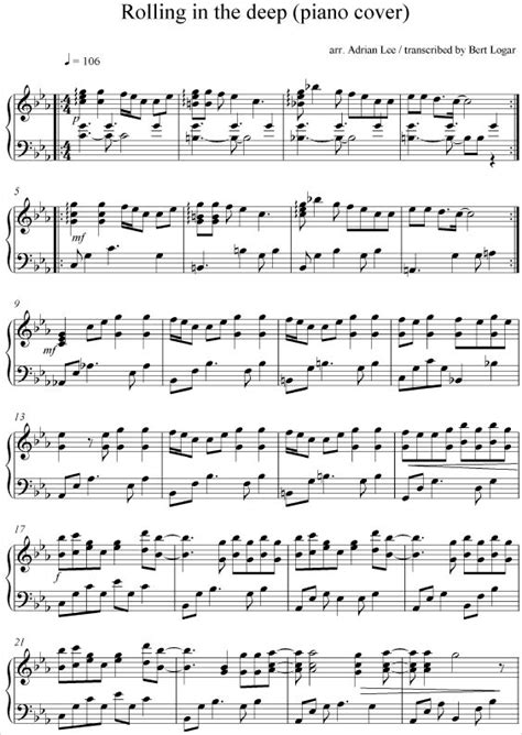 adele rolling in the deep piano music 445 best images about piano notes on pinterest sheet