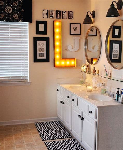 marquee bathrooms 22 illuminating vintage marquee lighting ideas