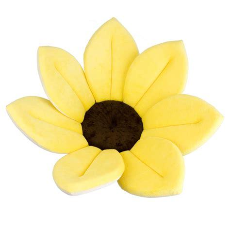 Kids Shower Head Bath Toy blooming bath plush flower baby bath sunflower bather