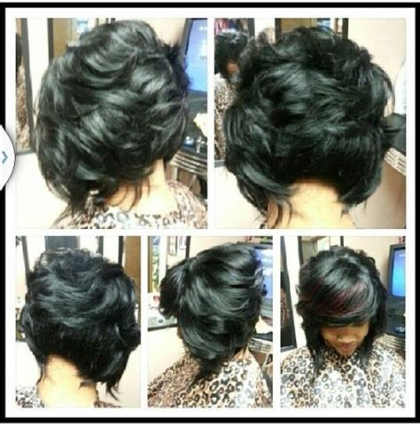 layered bob african american hair layered weave bob hair do i pinterest bobs and