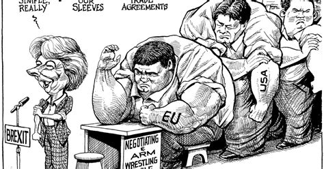 puigdemont brexit world s cartoonists on this week s events politico