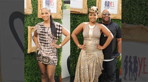 tamar braxton and april daniels feud black hairstyle and haircuts we tell all tamar braxton attends april daniels rock